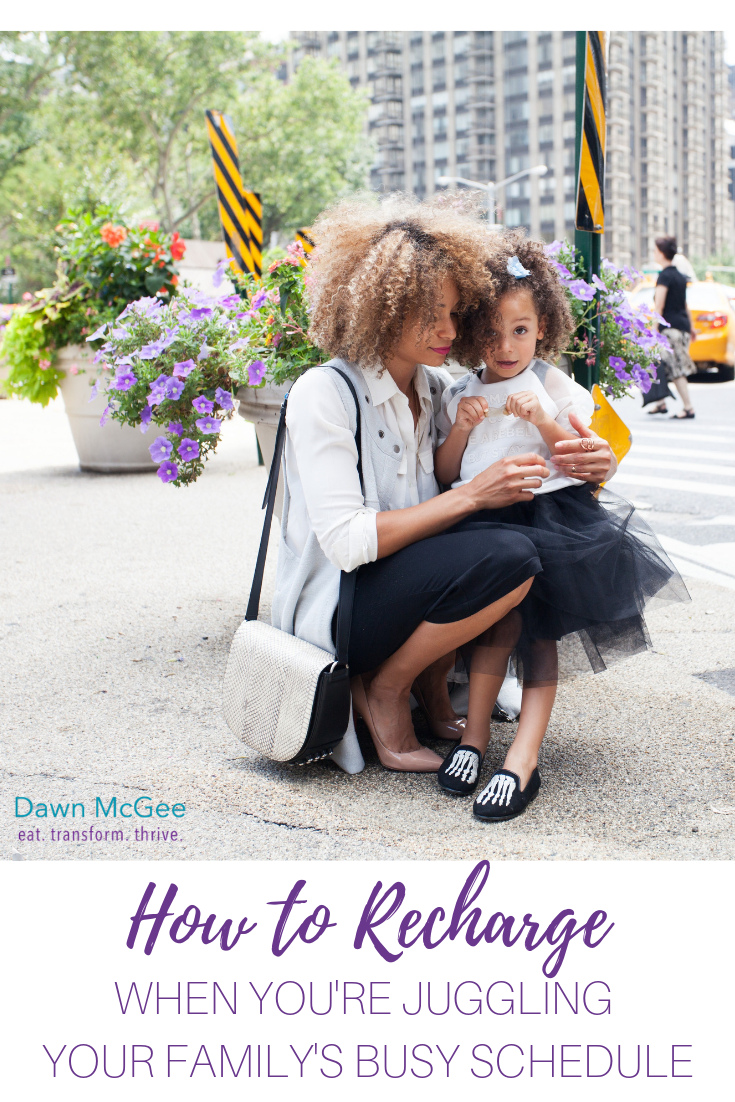 How to Recharge When You're Juggling Your Kids' Schedules